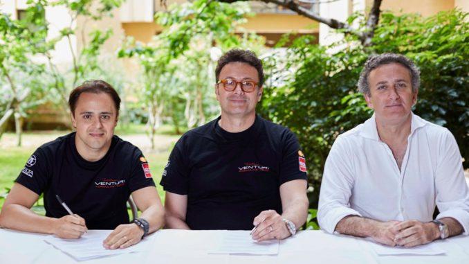 Venturi Formula E Felipe Massa