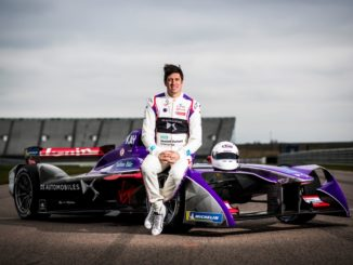 Vernon Kay DS Virgin Racing