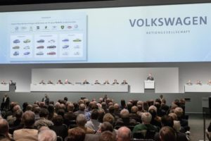 Volkswagen annual meeting