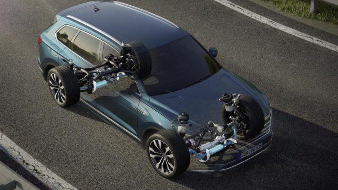 Volkswagen Nuova Touareg