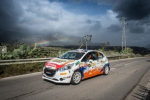 Peugeot Competition Top 208 al Rally San Marino