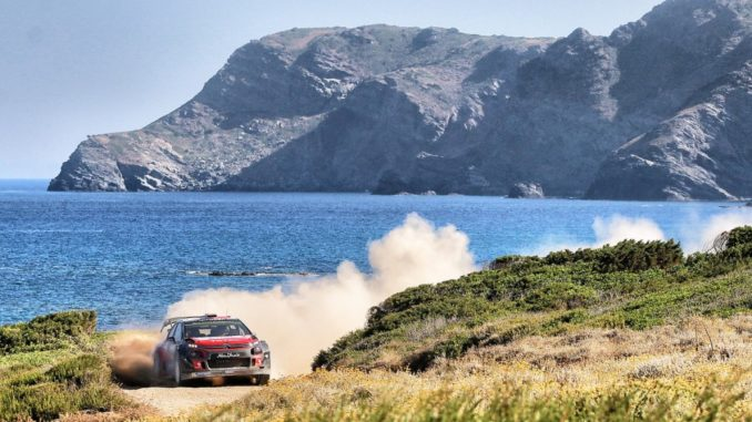 Citroen C3 WRC Rally Italia Sardegna