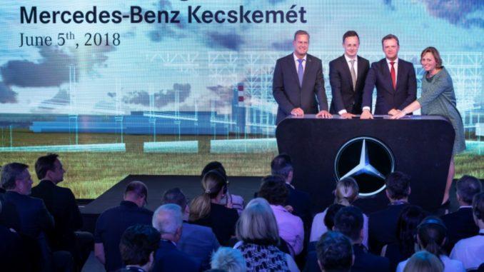 Mercedes Benz impianto