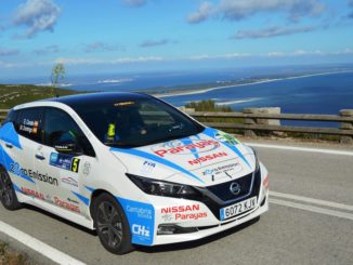 Nissan Leaf ecorally Portogallo