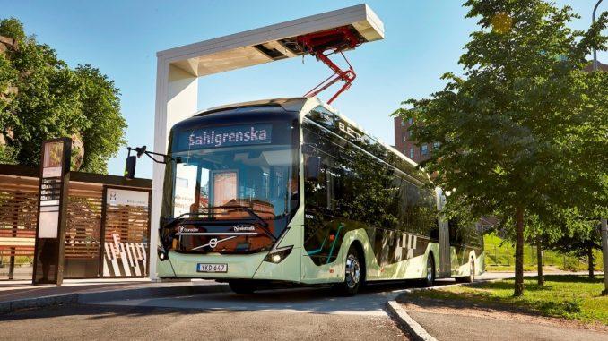 Volvo Ocean Race electric bus
