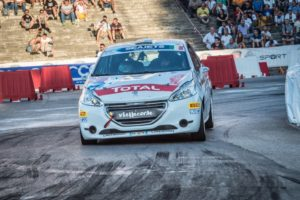 Peugeot Competition Top 208 Rally Roma Capitale