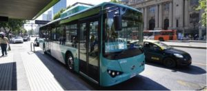 BYD Autobus Cile