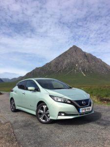 Nissan Leaf Autocar Three Peaks