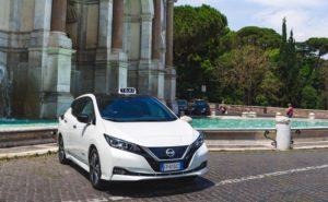 Nissan Taxi elettrici