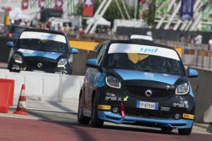 Smart EQ fortwo e-cup Milano Rally Show