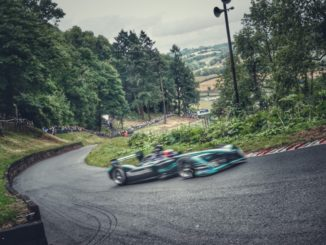 Jaguar Formula E al Shelsley Walsh