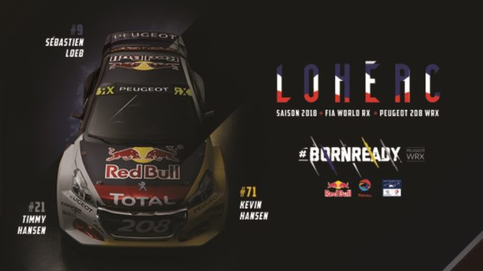 Peugeot Rallycross Lohéac 2018
