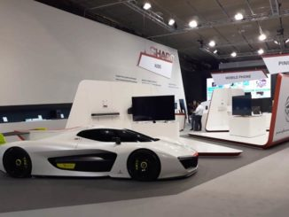 Pininfarina H2 Speed all'IFA di Berlino nello stand Sharp