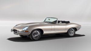 Jaguar E-type elettrica