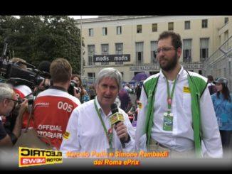 Marcelo Padin e Simone Rambaldi al Roma ePrix 2018