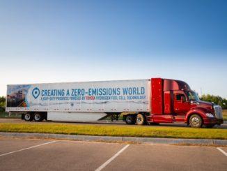 Toyota camion a idrogeno