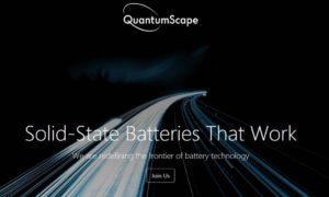 Volkswagen e QuantumScape