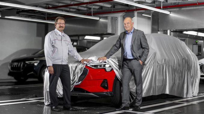 Audi e-tron Bruxelles