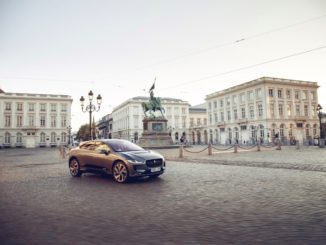 Jaguar I-Pace Londra Bruxelles