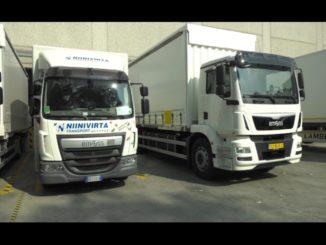 Niinivirta nuovo camion settembre 2018