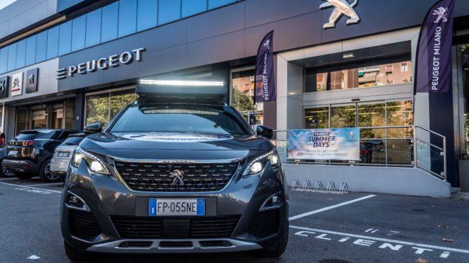 Peugeot 3008 Via della Seta