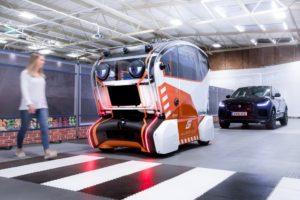 I pod self-driving di Jaguar Land Rover