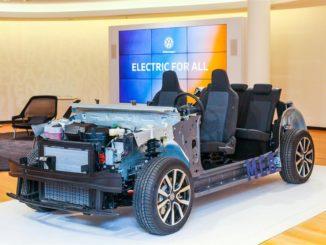 piattaforma modulare elettrica Volkswagen MEB