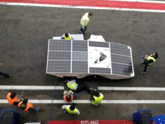 Solar Car Racing Zolder