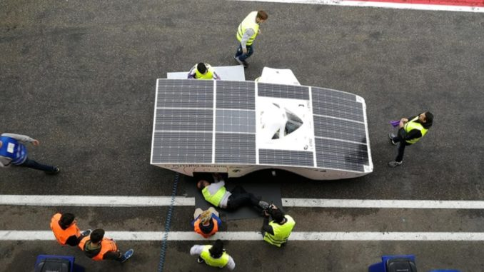 Solar Car Racing Zolder