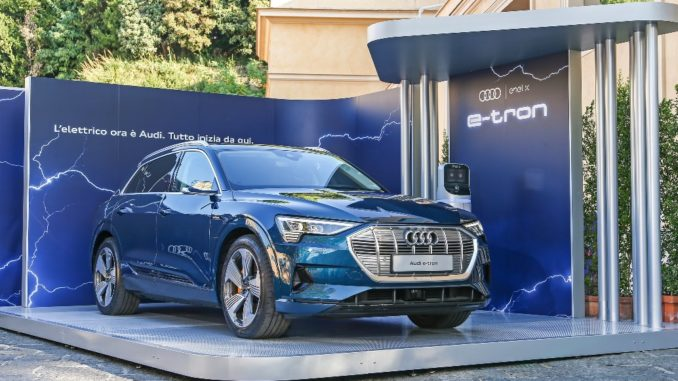 Audi e-Tron Enel X