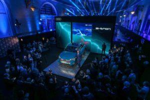 Lancio Audi e-tron Italia