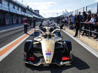 DS Techeetah Formula E a Valencia