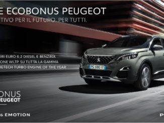 Ecobonus Peugeot