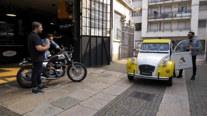 Moto special 2CV