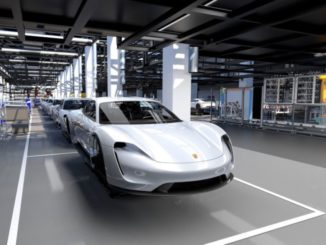 Porsche era elettrica
