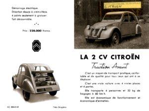 Depliant Citroën 2CV