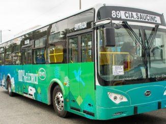 BYD Bus Ecuador