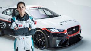 Célia Martin Jaguar I-PACE eTROPHY