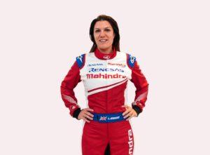 Formula E Mahindra Katherine Legge