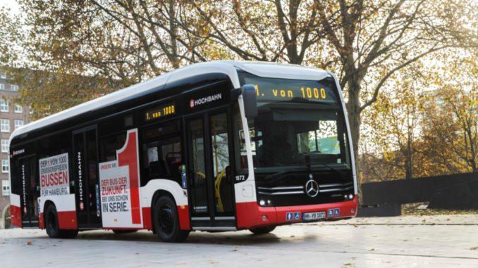 Mercedes Benz eCitaro Hamburg