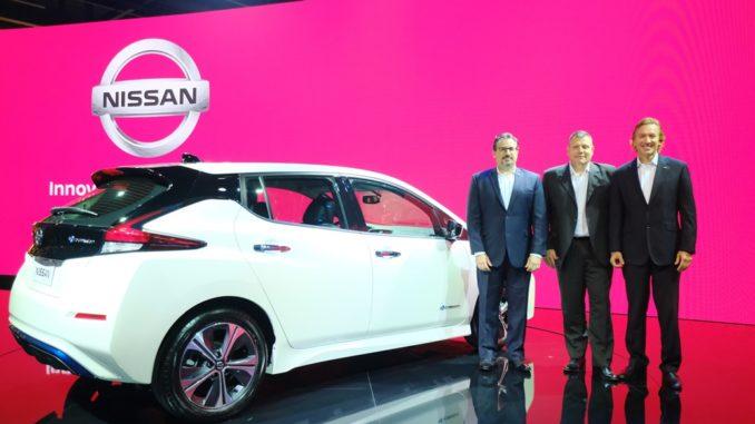 Nissan Leaf Salone San Paolo
