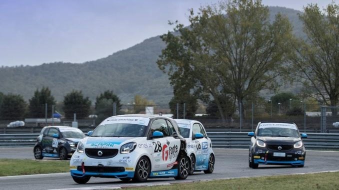 Smart EQ Fortwo e-Cup in Franciacorta