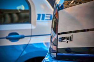 Volkswagen e-up! Polizia di Stato