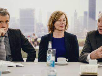 Il Consiglio di Sostenibilità del Gruppo Volkswagen ha presentato l'interim report (da sinistra): Georg Kell, Gesche Joost e Michael Sommer.