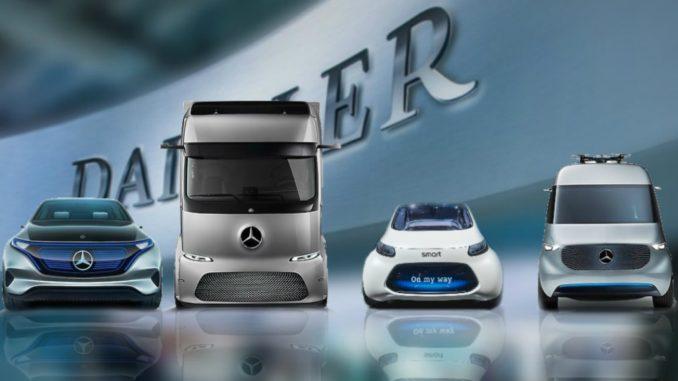 Cinque C di Daimler Mercedes-Benz
