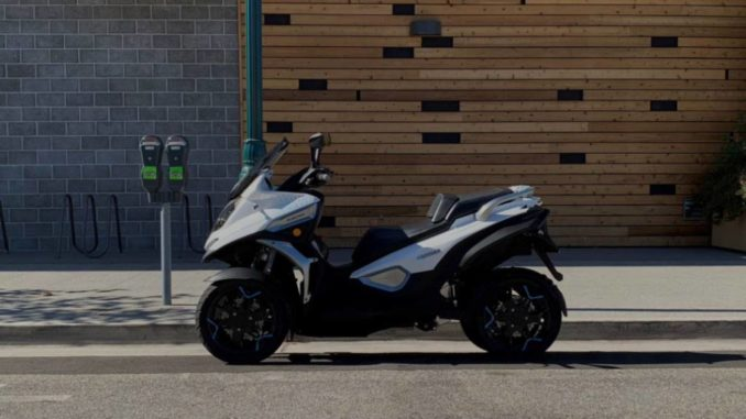 Quadro Vehicles con Zero Motorcycles E-Qooder