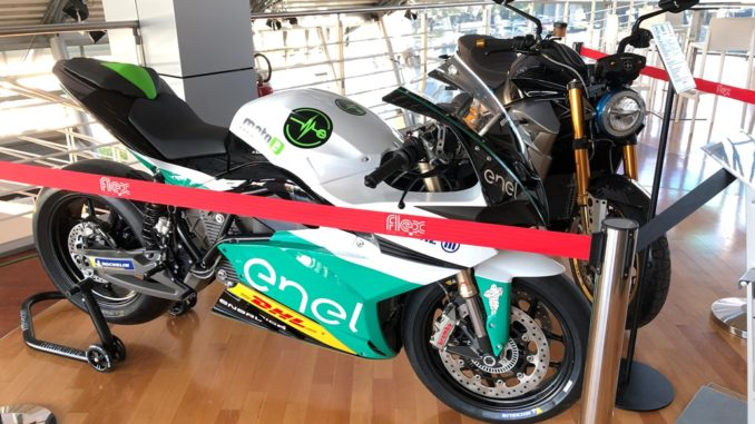 Energica Battery Swap System