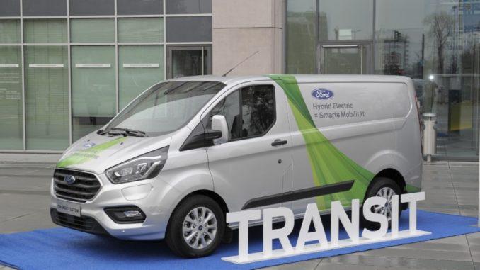 Ford Transit Hybrid Plug-In