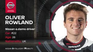 Nissan e-dams Oliver Rowland Buemi