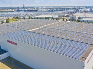 Nissan tetto solare Amsterdam
